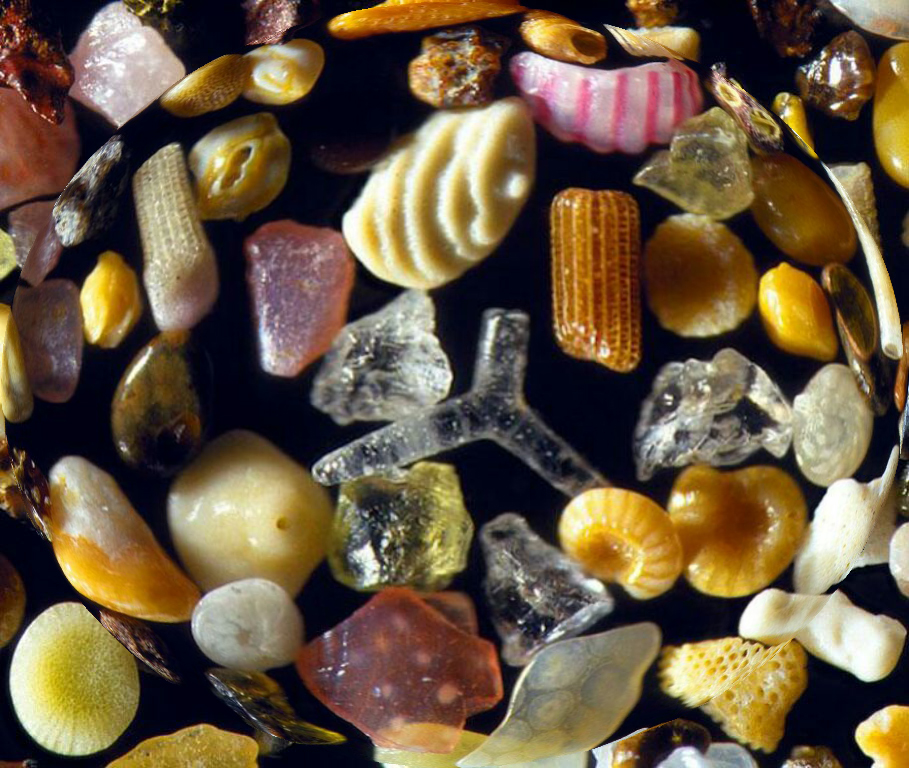 Sand Under Microscope 1-sphere