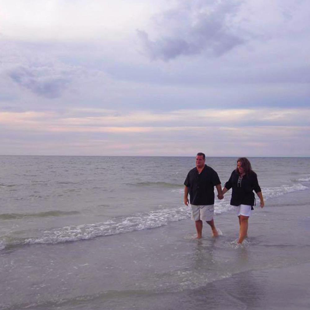 Florida Beach walk