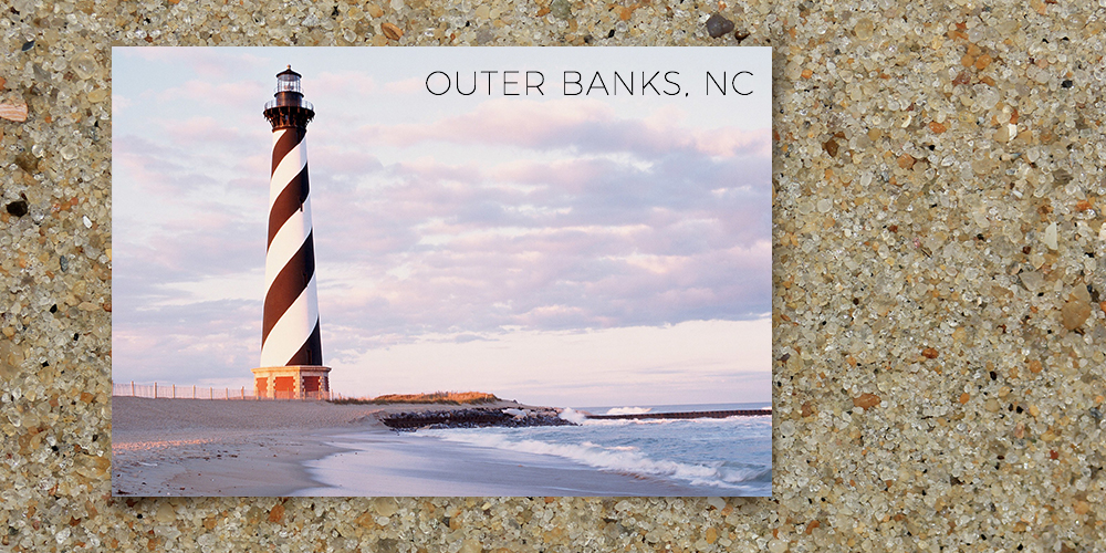 obx outer banks sand