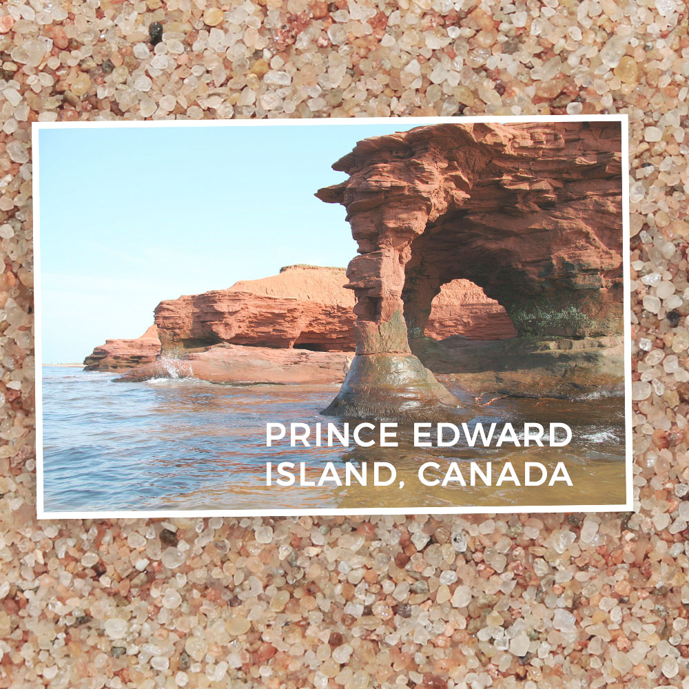 Prince Edward Island Beaches: Petite Dune Bar Earrings
