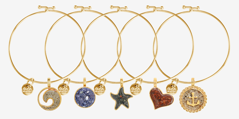 Fall Jewelry Gold Bangles