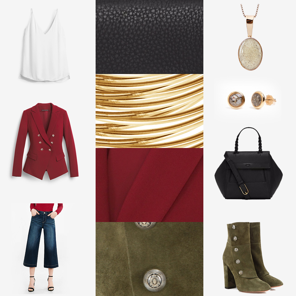 What to wear with Gold Fall Jewelry