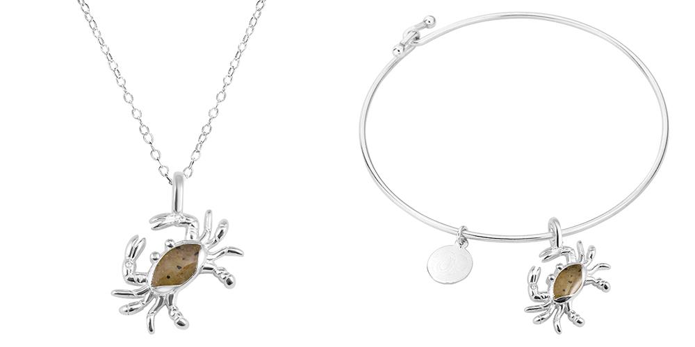 Crab Necklace Crab Bangle