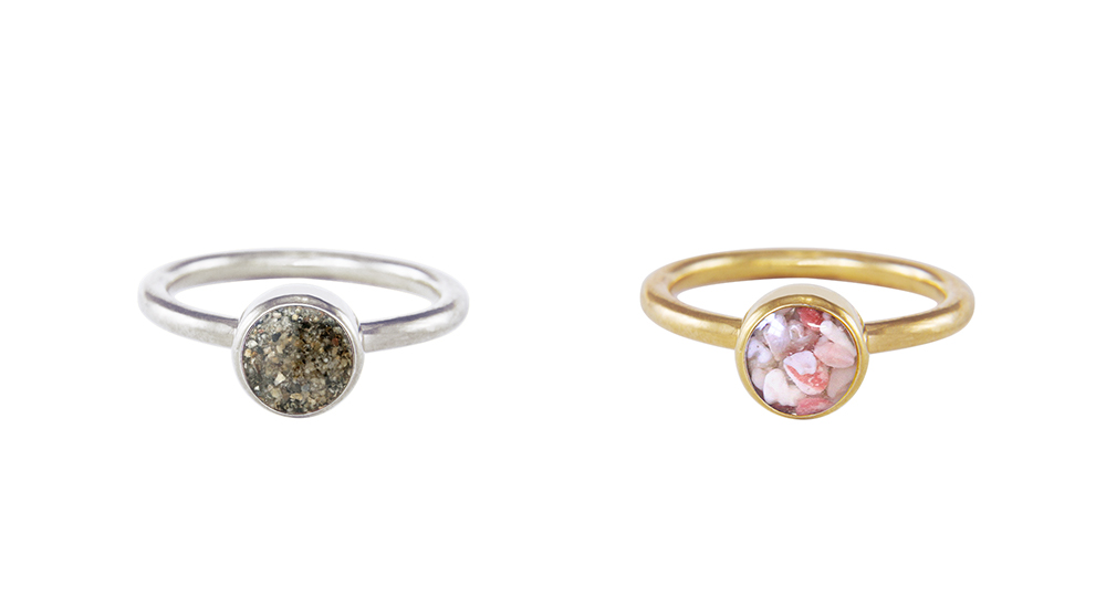 jewelry with meaning - valentines day gifts stacker rings