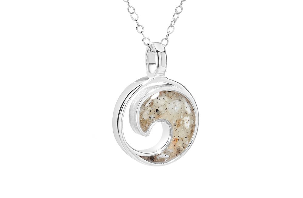 nautical necklaces-dunejewelrywavenecklacebeachsandjewelrylidobeachflorida