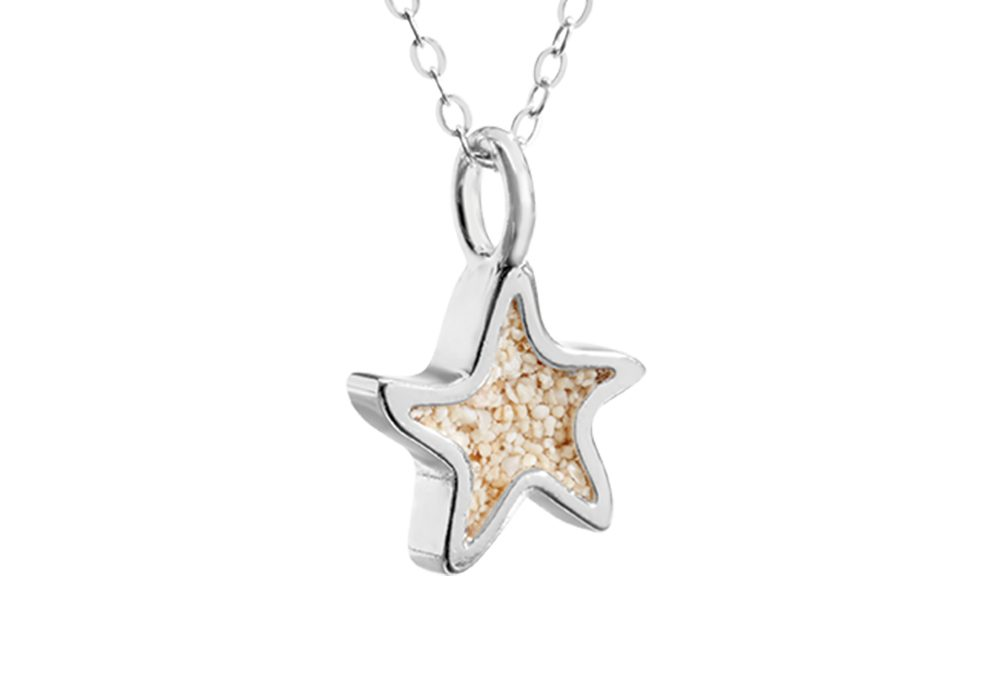 nautical necklaces-sand-jewel-necklace-star-fish-dunejewelrybeachsandjewelry