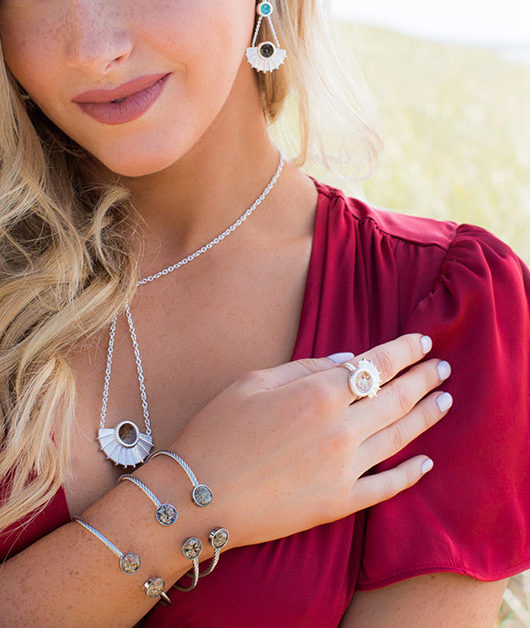 Winter Jewelry seafan collection